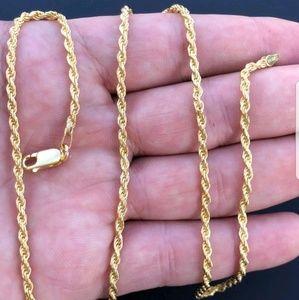 Men's or women's rope chain